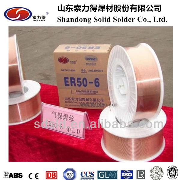 AWS ER70S-6 welding wire manufacture