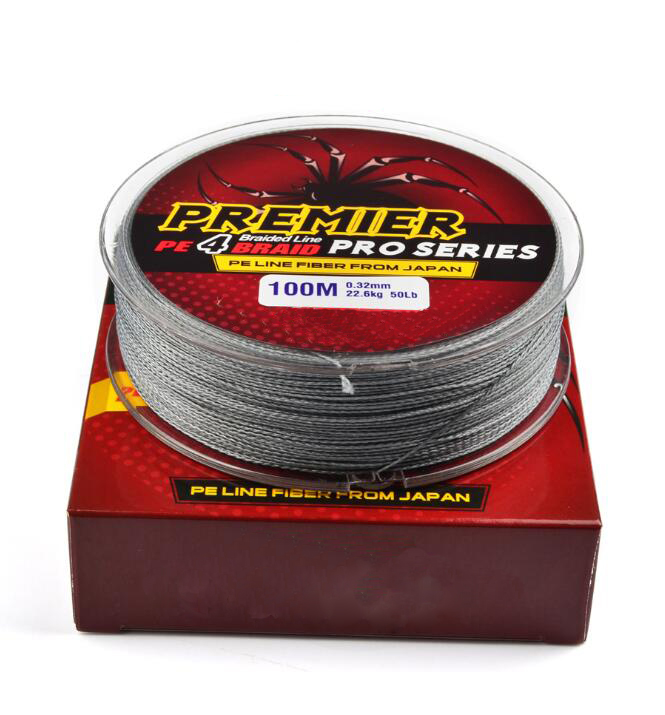 Multifiber Line Braided 100M PE Durable Dyneema salt water & freshwater Fishing Line