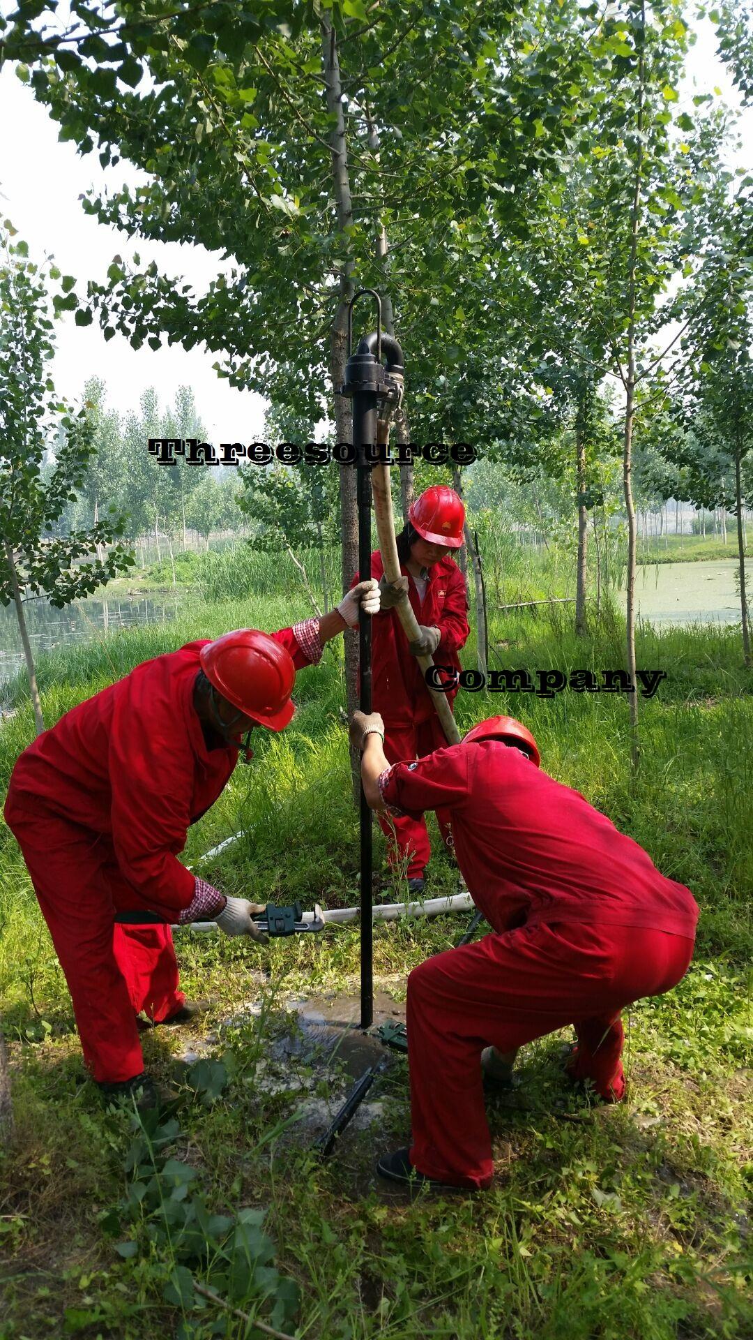 Man portable drilling rig for oil prospecting TSP-40flush