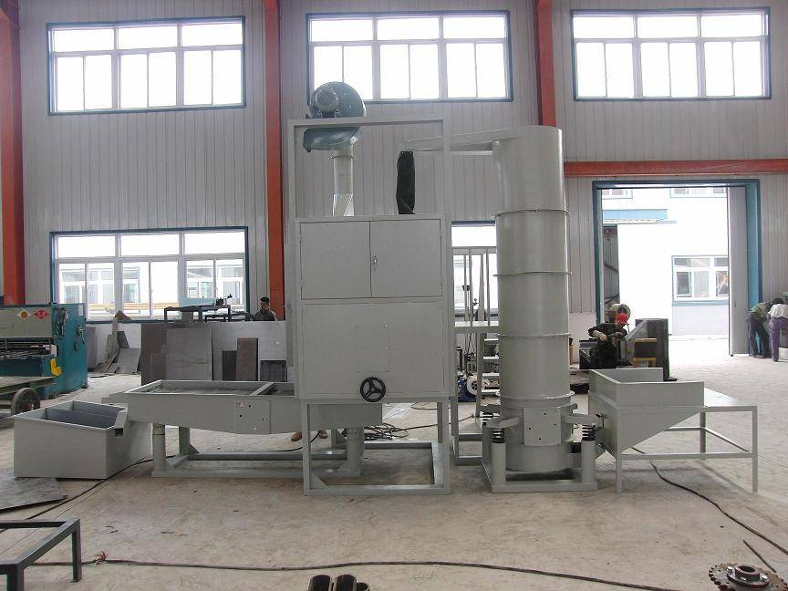 Green bean peeling machine, green bean decorticating machine