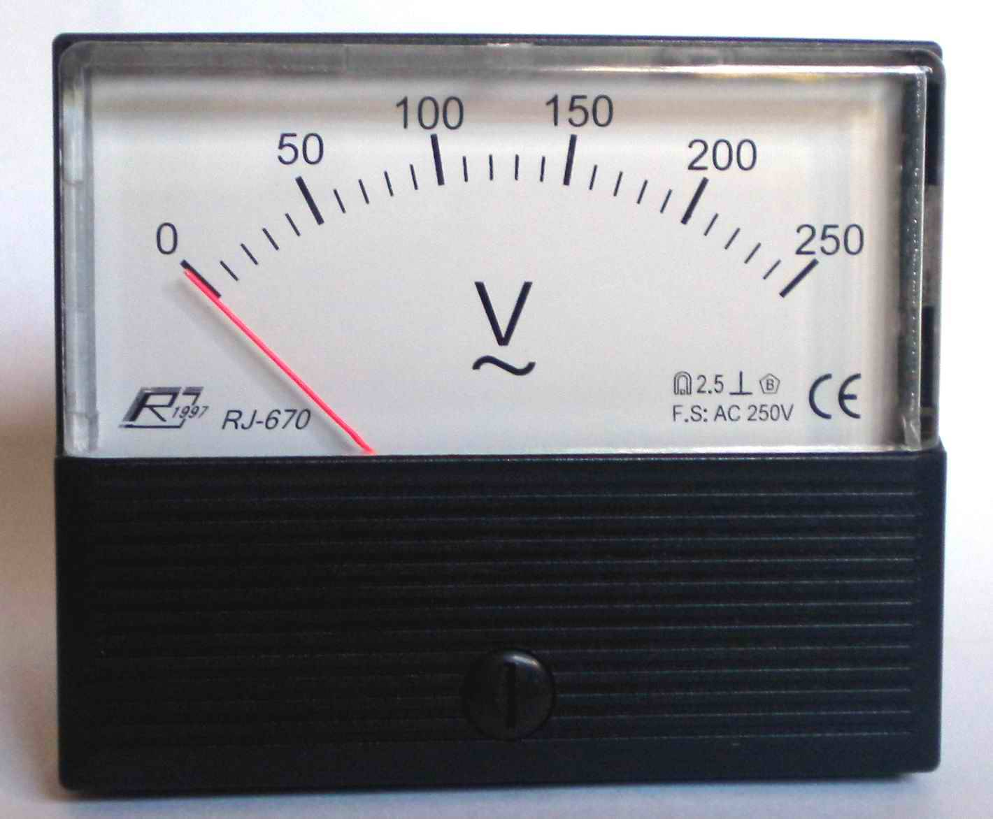 analog ammeter, voltmeter, Hz meter/moving iron, moving coil