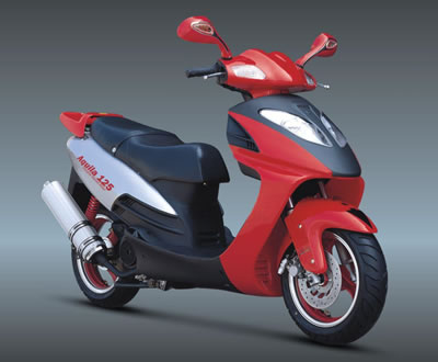 EEC scooter motorcycle 150cc