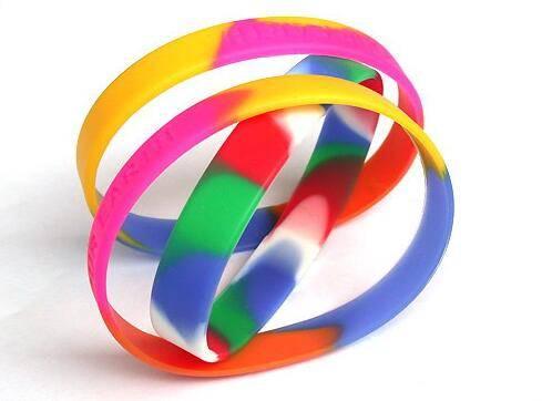 fashion sport silicone wristband, bangle, flexible