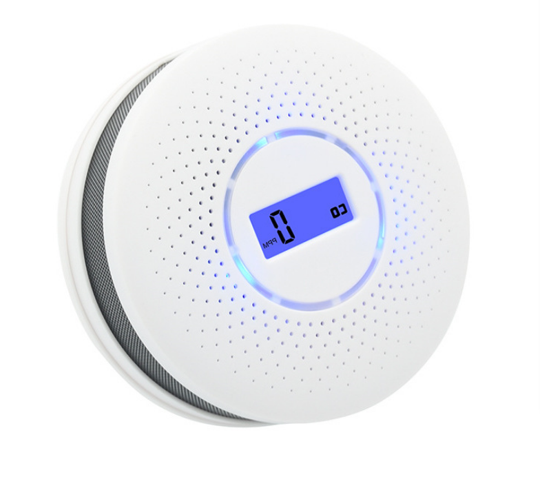 Hardwired Batterie Co Gas Detector Dual Smoke and Carbon Monoxide Detector Alarm