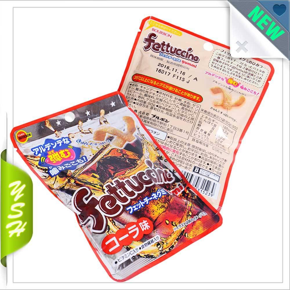 Fettuccine packaging plastic  heat seal bag