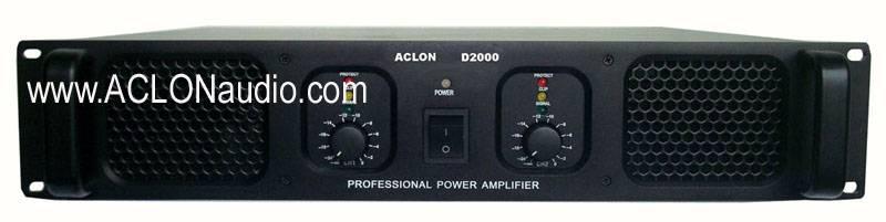 2u High Putput 400W Stage Power Amplifier (D2000)