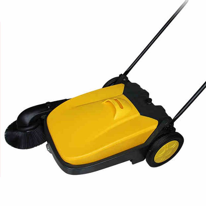 hand-push type walk behind floor sweeper machine ,road cleaner