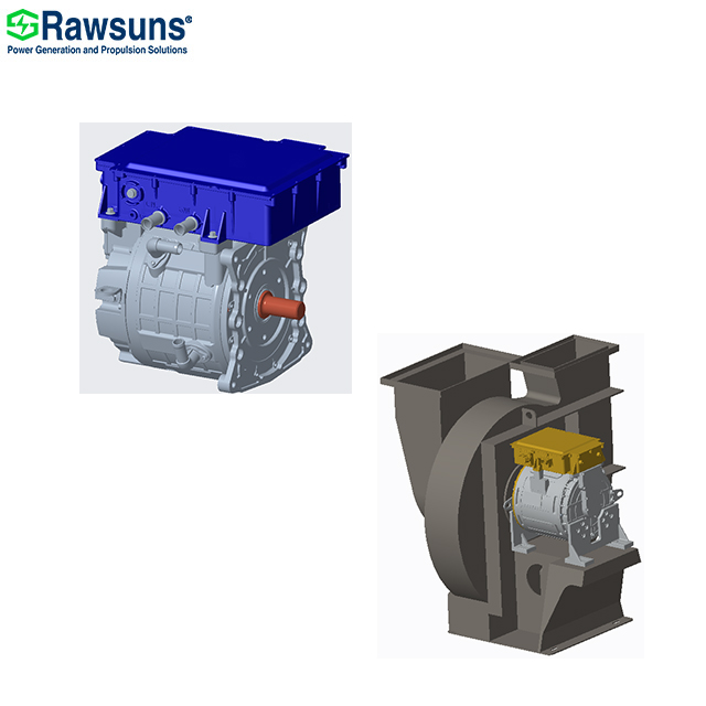 31KW 120Nm electric ev fan oil water pump motor with controller for electric vehicle sanitation