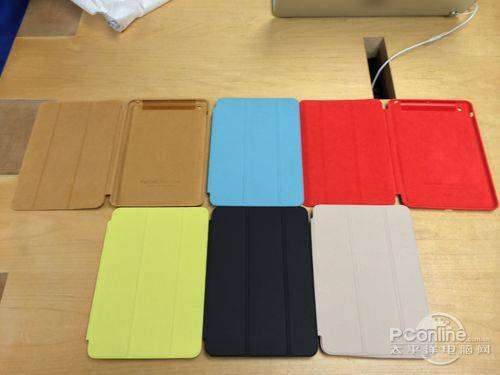 Ultra thin 3 folding stand portable leather case for ipad air