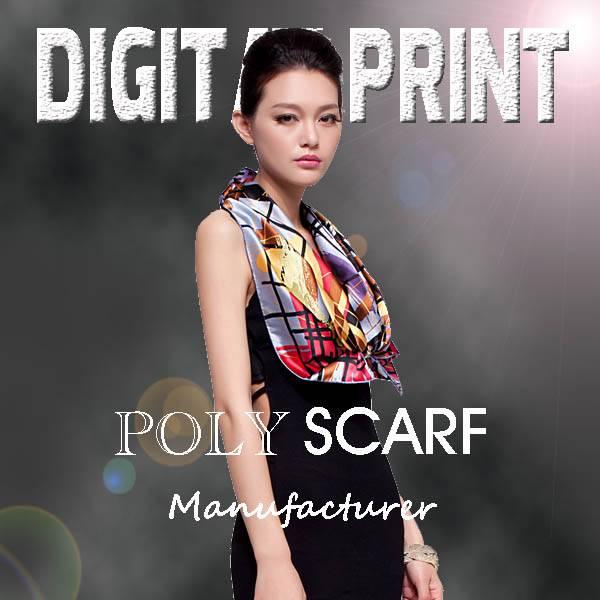 Textile Printing Silk Scarves digital shawl textile