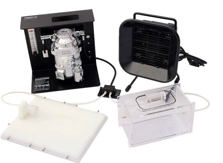HSIV-u Anesthesia Machine for Rodent/Small Animals