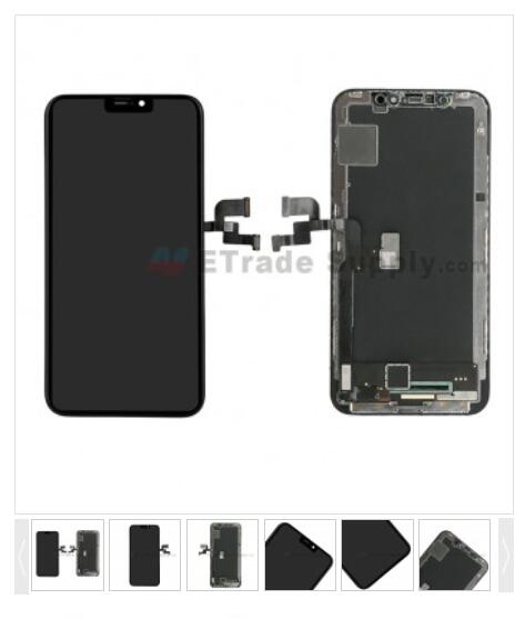 For Apple iPhone X LCD Screen and Digitizer Assembly with Frame Replacement