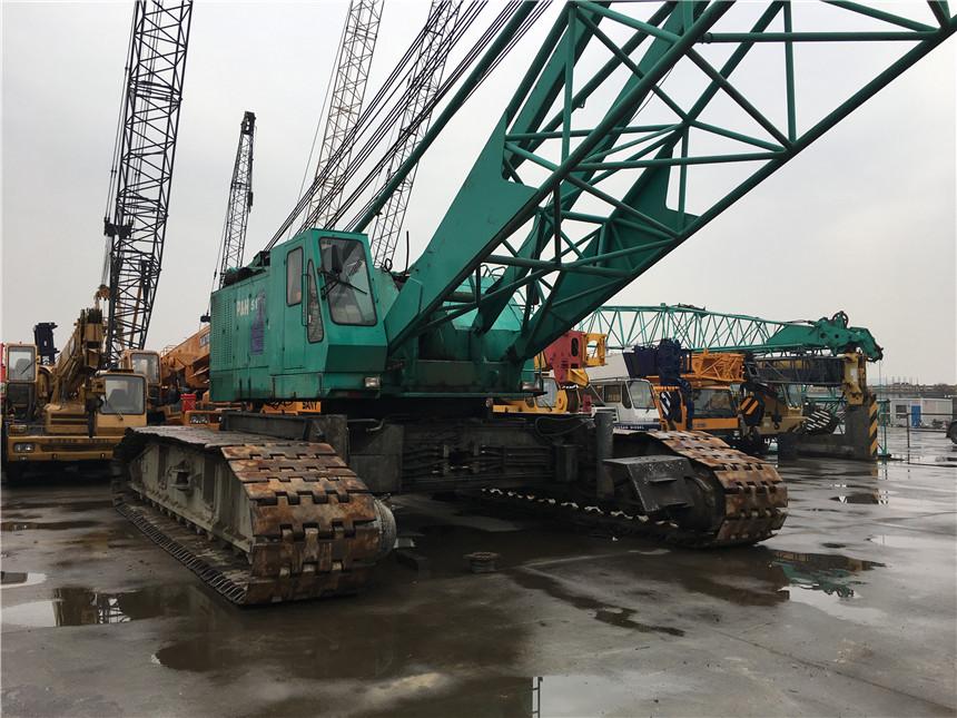 Japan original used crawler crane Kobelco 100 ton 50 150 ton 250 ton crawler crane for sale