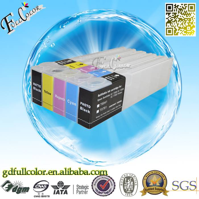 Epson SureColor SC-T7280 T5280 T3280 Printer Ink Cartridges Wholesale with Permanent Chip
