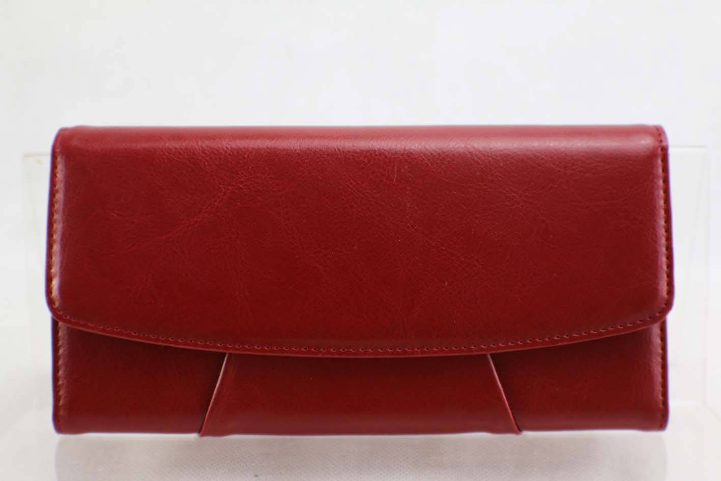 Red Triangle  leather