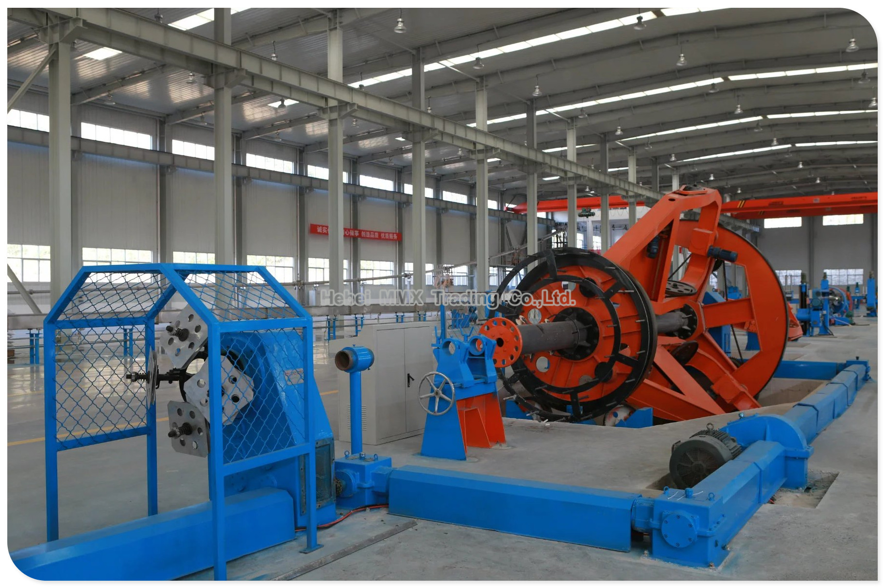 Cable Machinery for Insulated Wire and Big Power Cable.