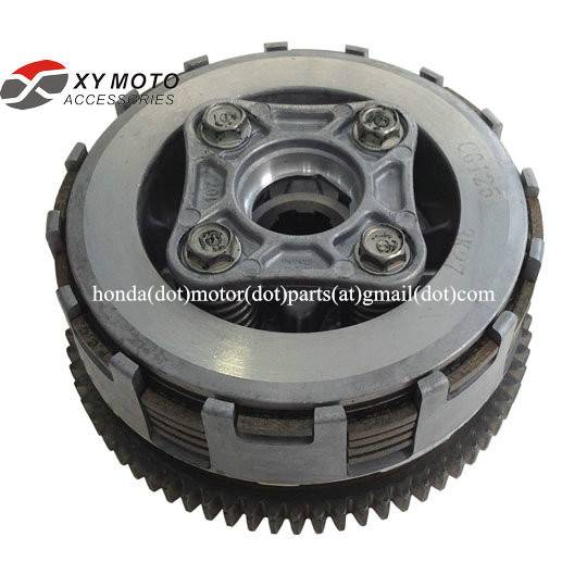 China Motorcycle Spare Parts Engine Clutch Basket Assembly CG125 CLUTCH ASSY 22000-KCS-650