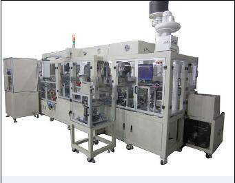 Automatic sensor detection and packing line