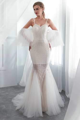 Mermaid Wedding Dresses-2020
