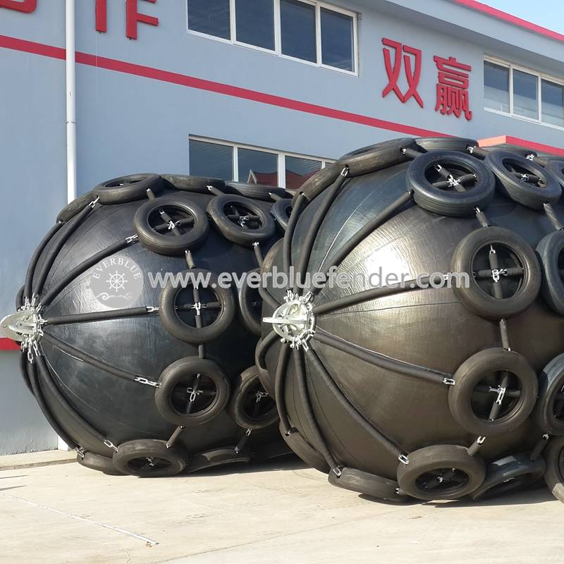 Hot sale china floating pneumatic rubber fender for ship