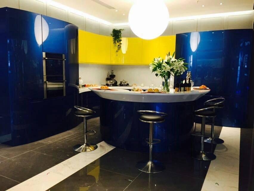 2015 welbom new lacquer kitchen design