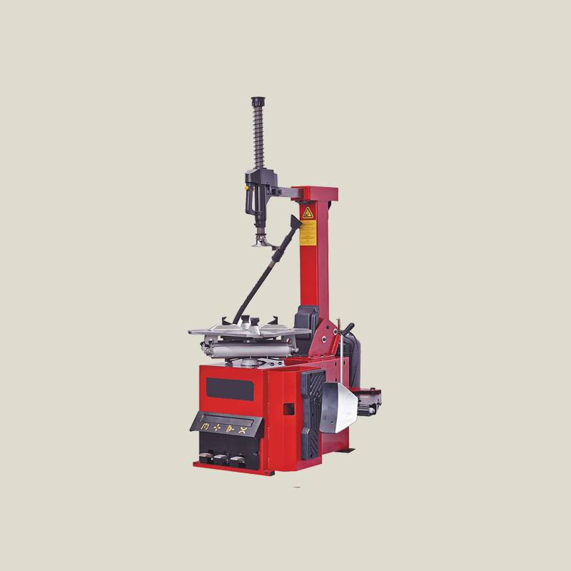 Automatic tire changer with tilting back post TC650