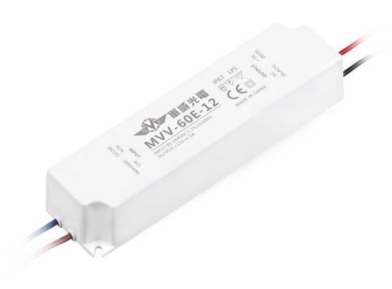 LED Driver MVV-E Series( 20W / 35W / 60W / 100W)