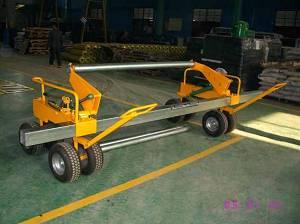 Turf roller carrier