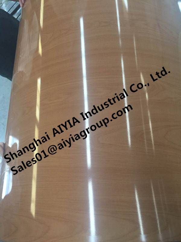 Wood color PPGI/Pre-Painted Galvanized Steel/Color-Steel