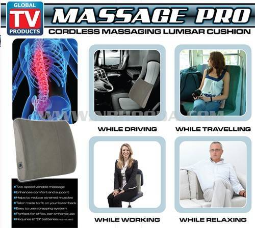 Massage Lumbar Cushion - As Seen on Tv Product (HD0752)