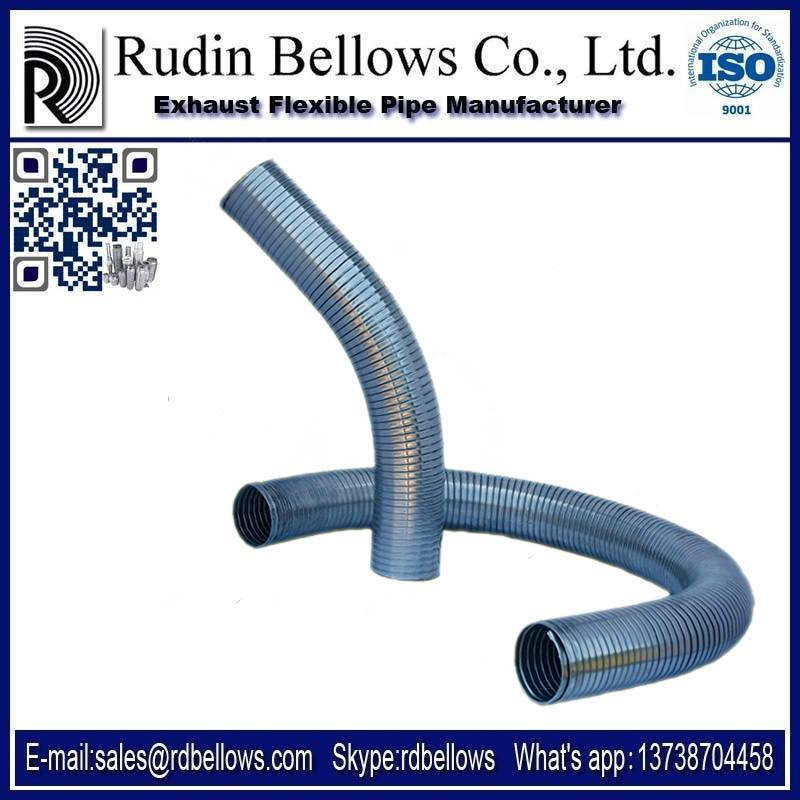 Exhaust Stainless steel Industrial And Power Pants Pipe