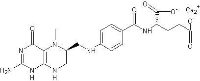 Levomefolate calcium CAS 151533-22-1 L-5-Methyltetrahydrofolate calcium