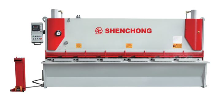 QC11y-10X2500 Hydraulic Guillotine Shearing Machine & Steel Plate Cutting Machine