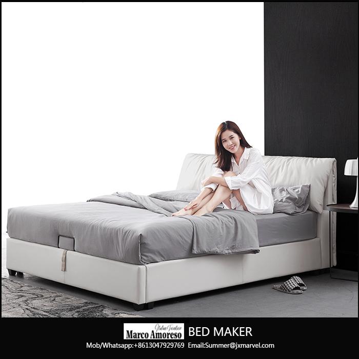 bed room furniture bedroom set modern leather bed modern bed frame