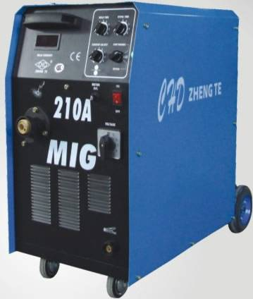 MIG/mag/co2 welding machine with wire feeder built-in(MIG-210A)