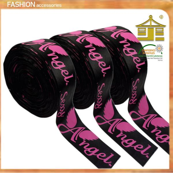 100% polyester printing ribbon for gift packaging in Guangzhou