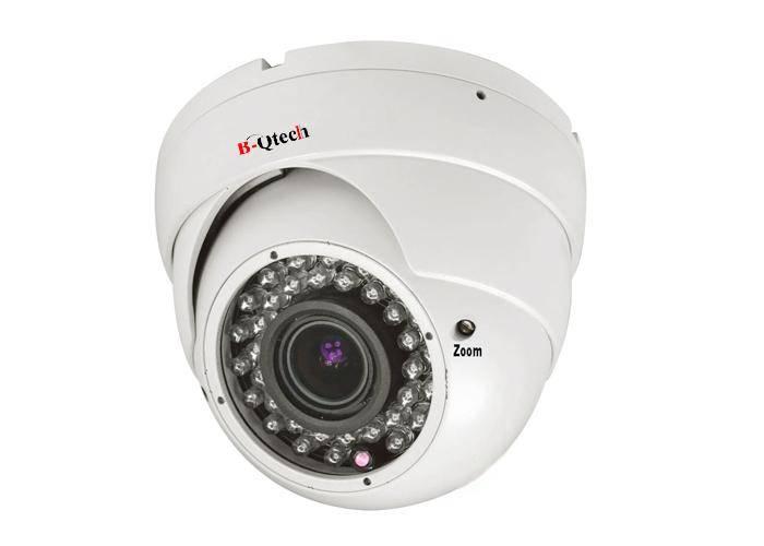 30m IR Dome CCTV Camera 700TVL Varifocal 4-9mm vandalproof and Waterproof