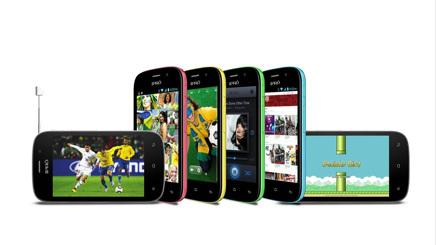 """3.5"""" 3G android smart phone iPro TRANS I"""