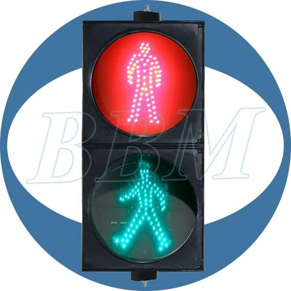 200mm red green pedestrian led traffic light
