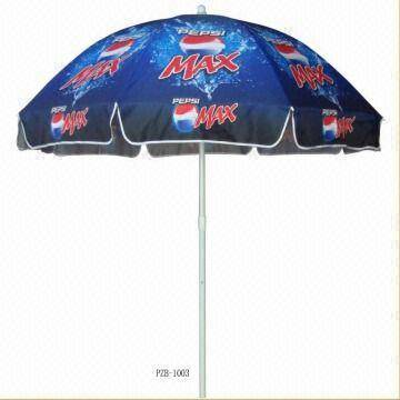 Promotional beach umbrella for Pepsi
