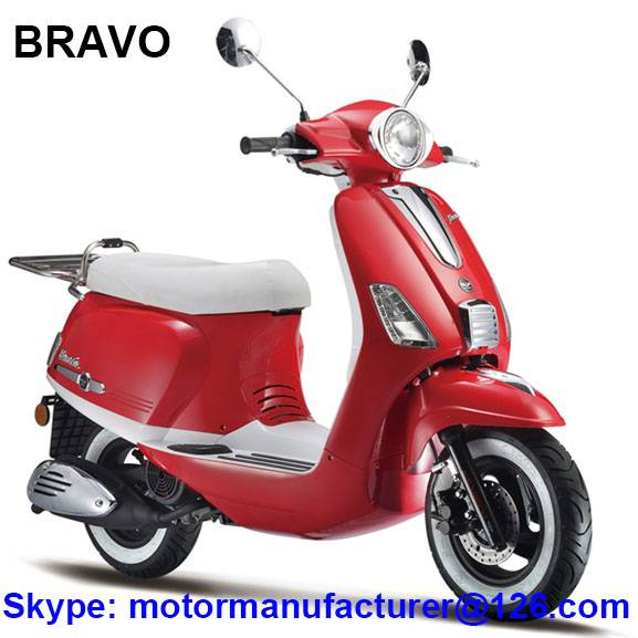 BRAVO Scooter JNEN Motor Popular Design 2016 Model Gasoline Scooter 50CC/125CC CDI/EFI EEC/EPA