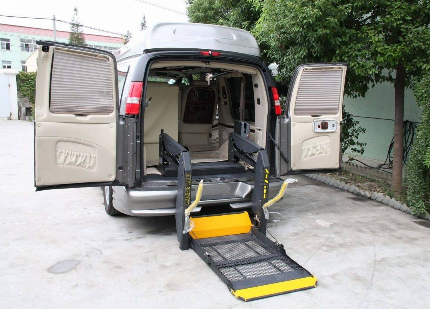 China Hydraulic Wheelchair Lift gives best solution for your van