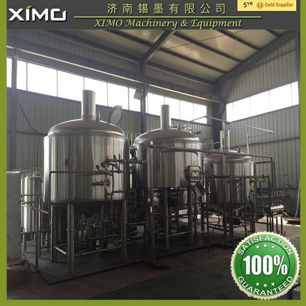 Beer Brewhouse, Beer Brewery, Direct Fire Beer Brewing Equipment