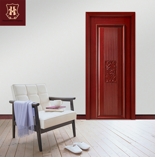 HONMAX MDF interior doors main entrance custom with line pressed Tech