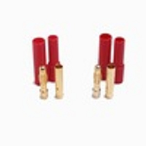 4.0mm terminal connector gold plated ,high current plug