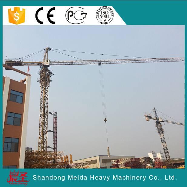 Tower Crane TC5010 5ton lifting capacity small tower crane