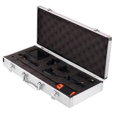 Side view inspection camera, rigid video borescope