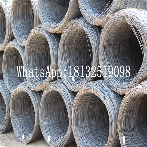 5.5mm hot rolled Tangshan Q195 steel wire rod coil