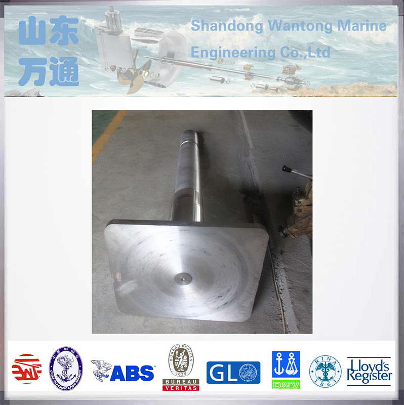 marine customized casting rudder carrier driving rudder stock for boats