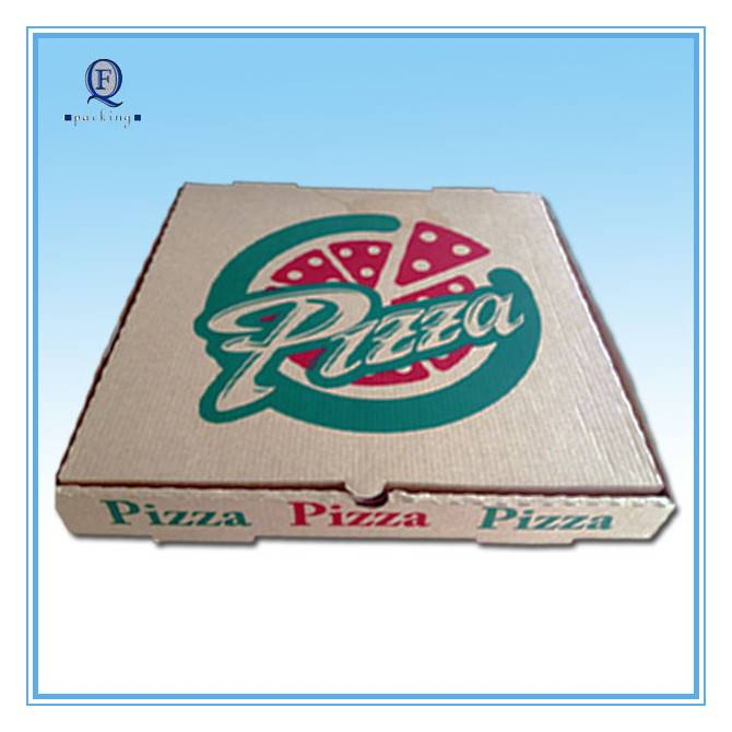 Custom eco-friendly color pizza box/excellent printed pizza box from China